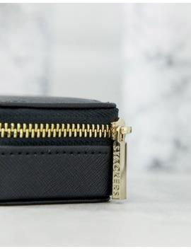 Stackers   Boîte à Bijoux De Voyage   Black Medium by Asos Brand