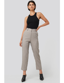 Cropped Suit Pants Grau by Nakdclassic
