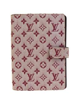 Bordeaux Agenda Pm Day Planner Wallet by Louis Vuitton