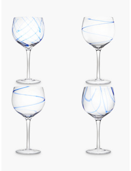John Lewis & Partners Coastal Gin Cocktail Glasses, Assorted, 650ml, Set Of 4 by John Lewis & Partners