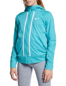 Nike Girls' Sportswear Jersey Full Zip Hoodie by Nike