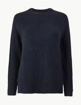 Cosy Relaxed Fit Jumper by Marks & Spencer
