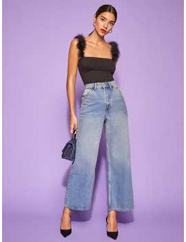 Jackie Ultra High Rise Crop Jean by Reformation