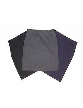 <Span><Span>Slim Fit School Tube Skirts Plain Stretch *Black Navy Grey Bottle Green 9 15yrs</Span></Span> by Ebay Seller