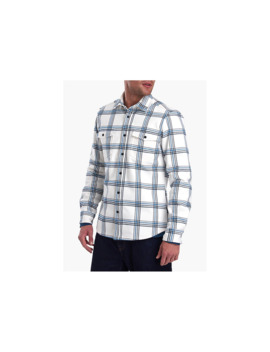 Barbour Winterton Long Sleeve Check Shirt, Ecru by Barbour