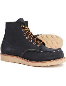 """Red Wing 6"""" Moc Toe Boots   Leather, Factory 2nds (For Men) by Red Wing"""