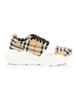 Regis Chunky Sneakers by Burberry