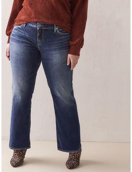 Suki Slim Bootcut Jean   Silver Jeans by Penningtons