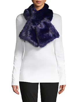 Classic Faux Fur Scarf by Renvy