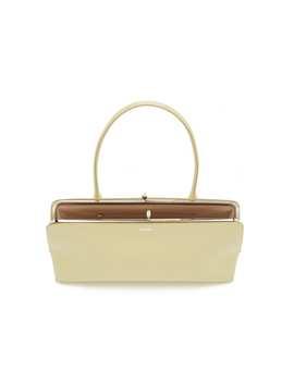 Goji Leather Top Handle Bag by Jil Sander