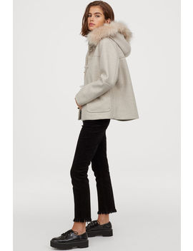 Duffle Coat With Faux Fur by H&M