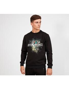 Flying Birds Sweatshirt | Black by Antony Morato