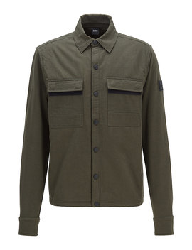 Hybrid Sweat Jacket With Prima Loft® Padding Hybrid Sweat Jacket With Prima Loft® Padding by Boss