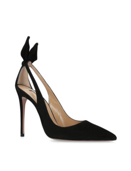 Suede Deneuve Pumps 105 by Aquazzura