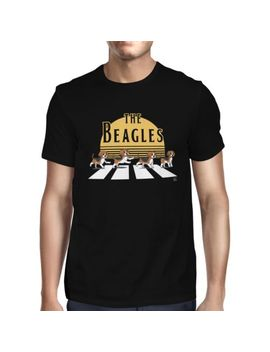 1 Tee Mens The Beagles, Abbey Road Spoof T Shirt by Ebay Seller