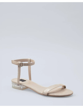 Lucite Heel Sandals by Whbm