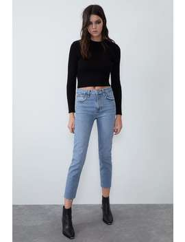 Slim Fit Hi Rise Jeans by Zara
