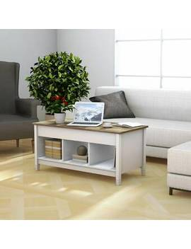Alina Lift Top Coffee Table With Storage by Highland Dunes