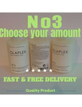 Olaplex,( Choose Your Own) Number 3 Hair Perfector, Fast &Free Delivery by Ebay Seller