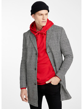 Prince Of Wales Coat by Jack & Jones