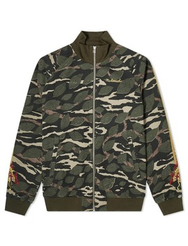 Maharishi Camo Sun Dragon Stripe Track Jacket by Maharishi