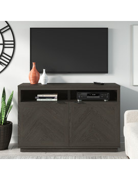 "Better Homes & Gardens Hendrix Herringbone Style Tv Stand, Fits T Vs Up To 55"" & 135lbs, Multiple Finishes by Better Homes & Gardens"