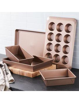 Kitchen Aid ® Professional Nonstick 5 Piece Bakeware Set by Crate&Barrel
