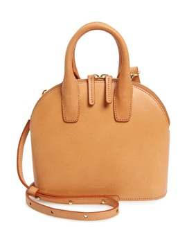Mini Top Handle Rounded Leather Bag by Mansur Gavriel