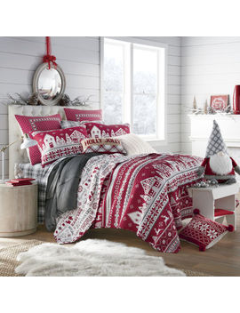 North Pole Trading Co. Winter Wonderland Quilt Set by North Pole Trading Co