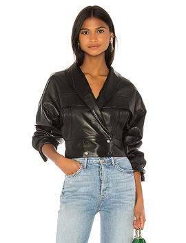 Billie Leather Jacket In Black by Lpa