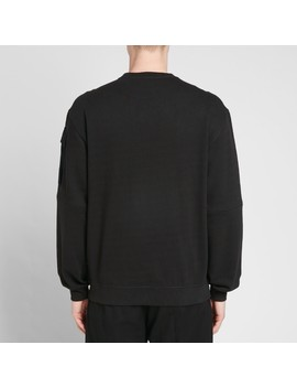 Maharishi Zip Sleeve Crew Sweat by Maharishi