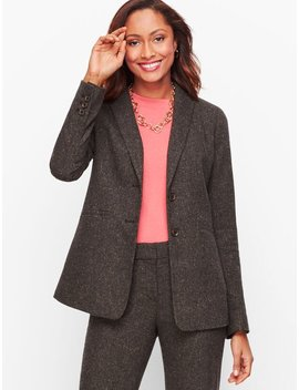 Luxe Donegal Blazer by Talbots
