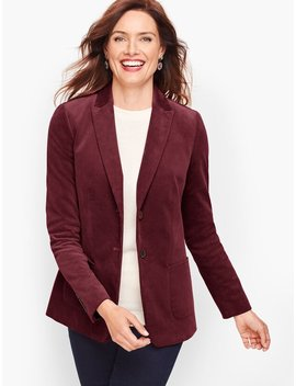 Classic Corduroy Jacket by Talbots