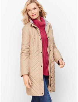 Long Quilted Coat by Talbots
