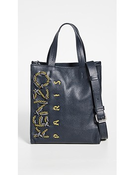Kontrast Small Vertical Shopper Bag by Kenzo