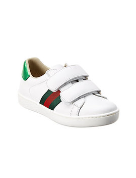 Gucci Leather Sneaker by Gucci