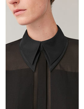 Mulberry Silk Collar by Cos