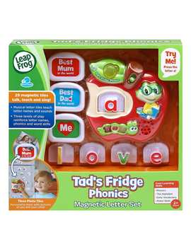 Leap Frog Tad's Fridge Phonics Magnetic Letter Set by Target