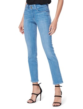 Hidden Hills High Waist Ankle Straight Leg Jeans by Paige