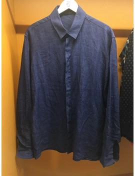 Linen Denim Style Shirt by Haider Ackermann  ×