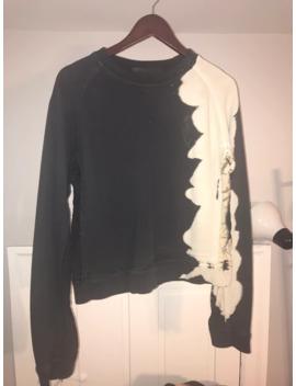 Haider Ackermann Bleached Crewneck Sweatshirt Size Small by Haider Ackermann  ×