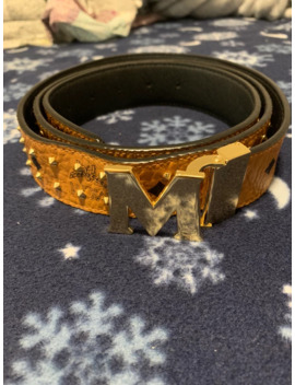 Mcm Belt With Spikes Reversable by Mcm  ×
