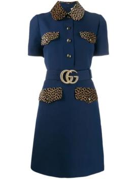 Gg Belt Short Dress by Gucci