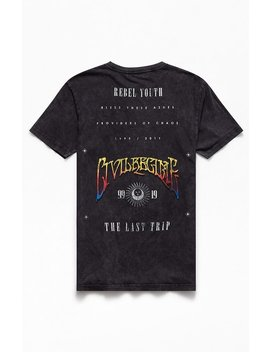 Civil Last Trip Washed T Shirt by Pacsun
