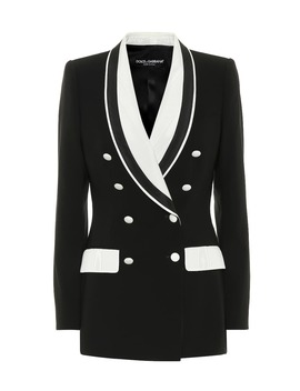 Stretch Wool And Silk Blazer by Dolce & Gabbana