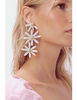 Lucite Daisy Earrings by For Love & Lemons
