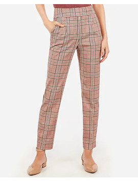 high-waisted-pleated-ankle-pant by express