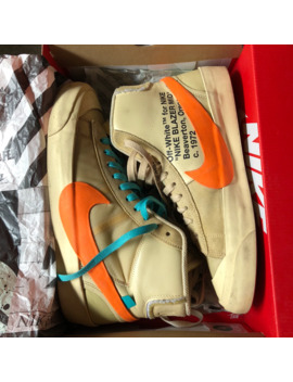 Off White X Blazer Mid All Hallows Eve by Nike  ×  Off White  ×