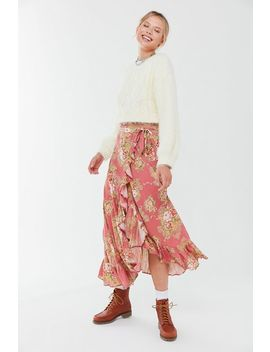 Auguste The Label Bonnie Cascade Wrap Skirt by Auguste The Label