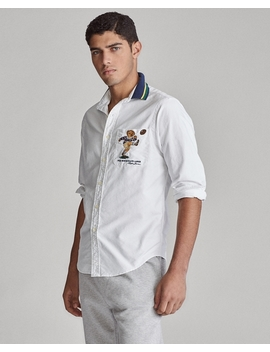 Classic Fit Kicker Bear Shirt by Ralph Lauren